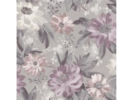 Arthouse Bloom Behang 676106 Painted Dahlia Heather/Bloemen