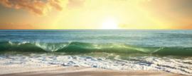 Dimex Fotobehang Sea Sunset MP-2-0209 Panorama/Zon/Strand/Zee/Zonsopgang
