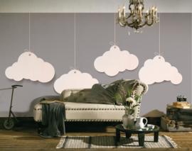 AS Creation Designwalls Fotobehang DD118642 Clouds 2/Wolken/Modern/Natuur/Nature/Grijs