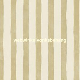 Eijffinger Stripes+ Behang. 377053 Strepen/Offwhite/Goud