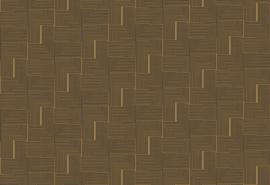 Hookedonwalls Boheme Behang BO23060 Labyrinth/Modern/Grafisch/Lijnen