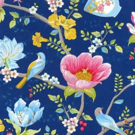 Eijffinger Pip Studio 3 Behang 341003 Bloemen/Romantisch/Blauw