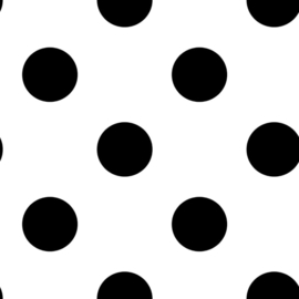 Noordwand Kids@Home Individual Behang 100104 Dotty Black/Stip/Dots/Zwart/Kinderkamer
