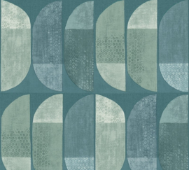 AS Creation Geo Nordic Behang 37531-3 Geometrisch/Modern/Retro