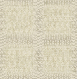 Dutch Maya First Class Behang EH72608 Bohemian Style/Vintage/Blokken