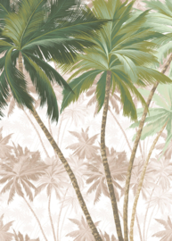 Noordwand Komar Raw Fotobehang R2-013 Palmera/Palmboom/Botanisch/Natuurlijk