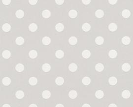 AS Creation Boys & Girls6 Behang 36934-2 Dots/Stippen/Ballen/Grijs/Kinderkamer