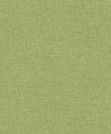 Arthouse Bloom Behang 676008 Linen Texture Moss Green/Groen/Landelijk