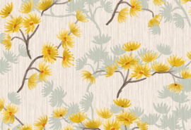Hookedonwalls Breeze Behang BR24016 Blossom/Bloesem/Natuurlijk