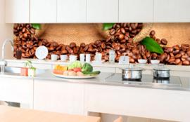 Dimex Zelfklevende Keuken Achterwand Coffee KL-350-006 Koffie/Bonen
