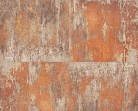 AS Creation Elements Behang 36118-2 Metals/Verweerd/Modern/Landelijk/Metaal Structuur