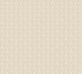 AS Creation Karl Lagerfeld Behang 37844-1 Kuilted/Gecapitonneerd/Knopen