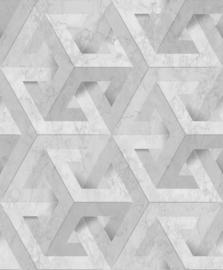 Dutch Wallcoverings Onyx Behang M34719 Modern/Grafisch/3D/Marmer