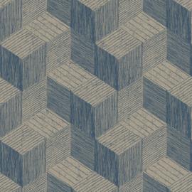 Dutch Wallcoverings Jungle Fever Behang JF3303 Freno/Grafisch/Modern/Blokken/3D
