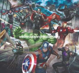 Noordwand Kids@Home Individual Fotobehang 111391 Marvel Avengers Assemble/Kinderkamer