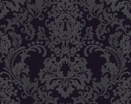 ASCreation Behang 36166-3 Barok/Ornament/Zwart/Modern/Klassiek/Glitter