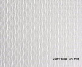 Intervos Glasweefsel 1402 Standaard/Structuur/Jute/Blokje/Overschilderbaar Behang