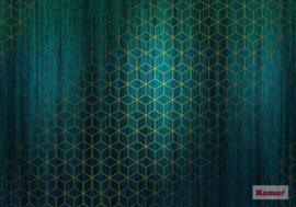 Komar/Noordwand Heritage Edition1 Fotobehang HX8-047 Mystique Vert/Modern/Grafisch Behang