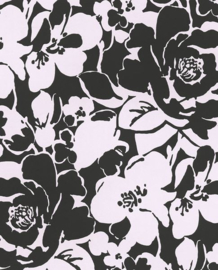 Eijffinger Black & Light 356002 Modern/Romantisch/Bloemen Behang