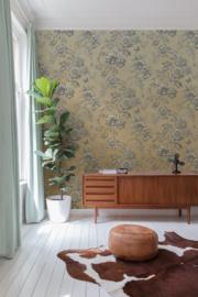 Dutch Wallcoverings One Roll One Motif Behang SN6001 Mimosa/Bloemen/Romantisch/Landelijk