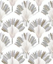 AS Creation Jungle Chic Behang 37708-2 Veren/Natuurlijk/Modern