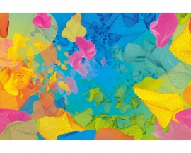 AS Creation APDigital2 Behang 470537  Yellyfish/Modern/Abstract Fotobehang