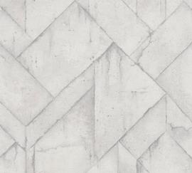 AS Creation Industrial Behang 37741-5 Beton/Modern/Landelijk/Industrieel