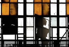 ASCreation Walls by Patel Fotobehang Bronx 2 DD113302 Modern/Industrieel/Vintage/Oranje/Koper