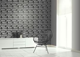 Arthouse Options Behang  622001 Cityscape Black/ Steden