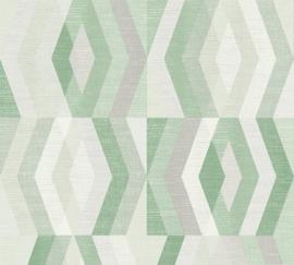 AS Creation Geo Nordic Behang 37533-5 Geometrisch/Modern/Ruit