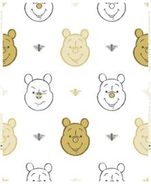Noordwand Kids@Home Individual Behang 106604 Bee Winnie The Pooh/Bijtjes/Pooh Beer/Goud/Kinderkamer