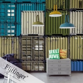 Eijffinger Wallpower Wonders Behang 321555 Cargo/Containers/Modern/Metaal/Industrieel  Fotobehang