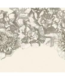 Eijffinger Museum Fotobehang 307404 Flower Fall/Bloemen/Botanisch/Black & White
