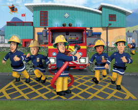 Walltastic Wall Mural 43770 Fireman Sam Fotobehang - Dutch Wallcoverings