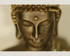 Fotobehang 036391 / Buddha in portrait ASCreation