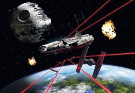 Komar Home Imagine Edition 4 Fotobehang 8-489 Star Wars Millennium Falcon/Ruimteschip