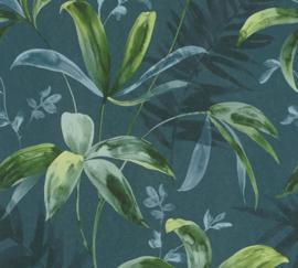 AS Creation Jungle Chic Behang 37704-4 Botanisch/Bladeren/Natuurlijk