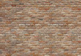 Komar Stories 8-741 Backstein/Modern/Landelijk/Bakstenen Fotobehang - Noordwand