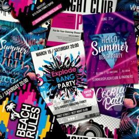Noordwand Good Vibes Behang GV24230 DJ/Tiener/Beach Rules/Night Club