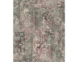 Rasch Barbara Home Collection  Behang 536522 Vintage/Verweerd/Textiel Look