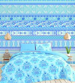 Behangexpresse Happy Living Fotobehang TD4006 Yamie/Bloemen/Strepen/Ornament/a Spark of Happiness/Kinderkamer Behang