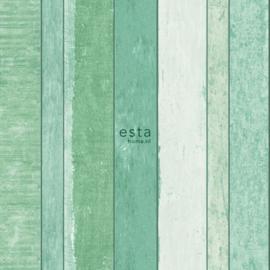 Esta Home Jungle Fever 151-138983 Hout/Planken/Industrieel/Landelijk Behang