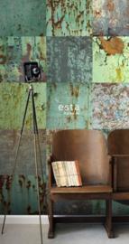 Esta Home Greenhouse Behang 158203  Vlakken/Industrieel/Vintage Fotobehang