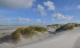 We Live by Light/Holland Schiermonnikoog duinen 3 0510 - Fotobehang - Noordwand