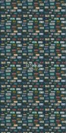 Esta Home Brooklyn Bridge Behang 158502 Modern/Vintage License Plates Fotobehang