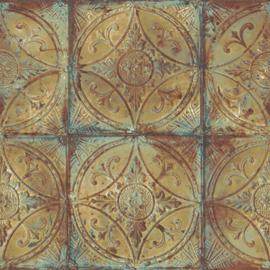 Noordwand Grunge Behang G45376 Klassiek/Landelijk/Verweerd/Vintage/Tegel