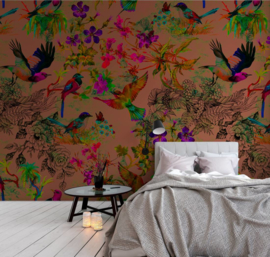 Walls by Patel DD110186 Funky Birds 3 Fotobehang - ASCreation