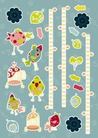 Sticker 17045 My Size-Komar