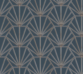 AS Creation Daniel Hechter 6 Behang 37528-3 Modern/Grafisch/3D/Art Deco/Grijs/Goud