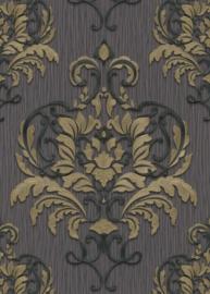 Behangexpresse Spotlight Behang 10102-34 Barok/Ornament/Klassiek/Grijs/Goud